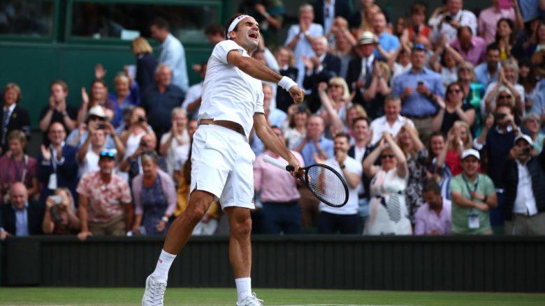 Federer ka siguruar finalen e Wimbledonit (Foto: Clive Brunskill/Getty Images/Guliver)