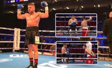 Fitorja e Florian Markut ndaj Broadbent bëhet virale në rrjet, kundërshtari i tij tallej në ring derisa u nokautua nga boksieri shqiptar