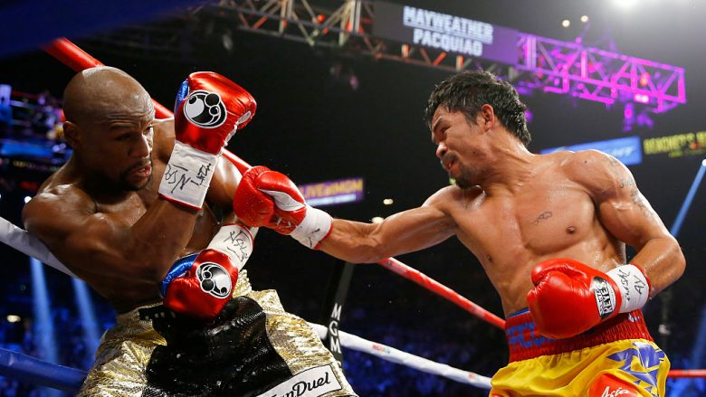 Floyd Mayweather Jr. dhe Manny Pacquiao (Foto: Al Bello/Getty Images/Guliver)