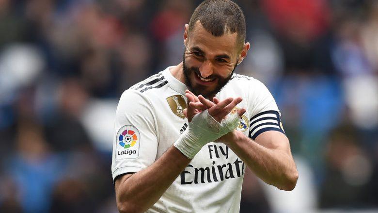 Karim Benzema .  (Photo by Denis Doyle/Getty Images)