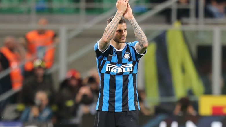 Mauro Icardi.  (Photo by Gabriele Maltinti/Getty Images)