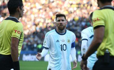 Messi nuk e pranoi medaljen dhe shpërtheu pas ndeshjes: Nuk e mora medaljen sepse nuk dua të bëhem pjesë e korrupsionit