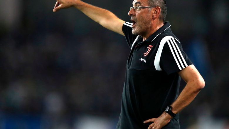 Maurizio Sarri. (Photo by Fred Lee/Getty Images)