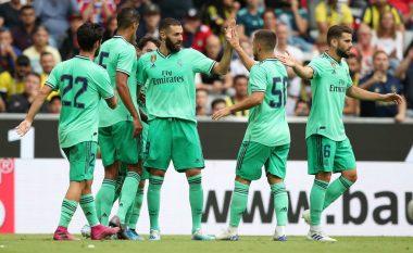 Real Madridi fiton ndaj Fenerbahces së Vedat Muriqit, Karim Benzema shkëlqen me het-trik