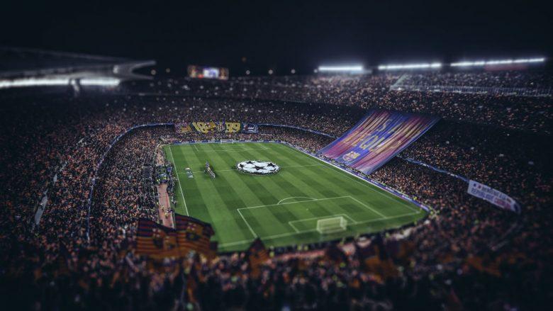 Cam Nou, Barcelona.  (Photo by Michael Regan/Getty Images)