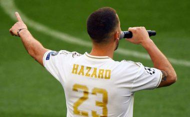 Hazard pritet ta marr numrin 23 te Real Madridi, ka një arsye interesante