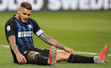 Icardi e lë kampin stërvitor të Interit dhe kthehet në Milano, largimi duket i pashmangshëm