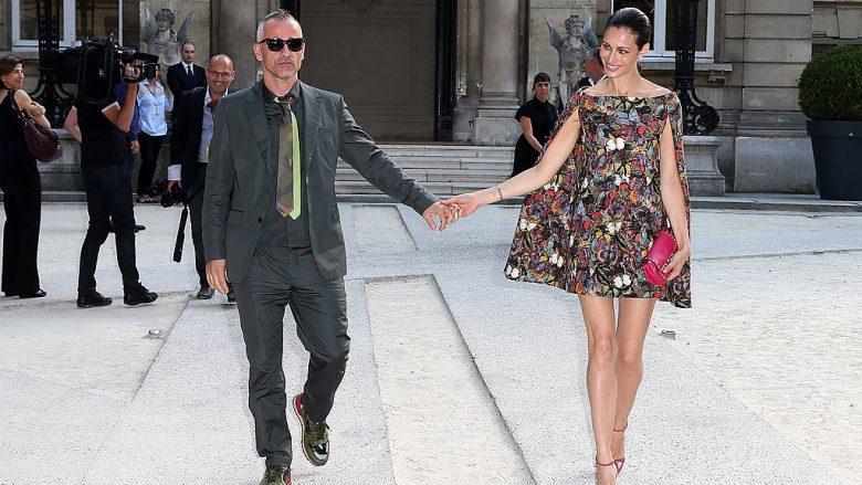 Eros Ramazzotti dhe Marica Pellegrinelli (Foto: Pierre Suu/Getty Images/Guliver)
