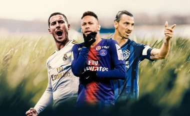 Neymar kryeson listën e 15 lojtarëve më të kushtueshëm me të gjitha transferimet që kanë pasur, pas tij vijnë yje si Ronaldo, Ibrahimovic dhe Anelka