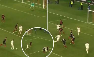 Pablo Hernandez driblon katër kundërshtarë dhe shënon gol të bukur në minutën e 95-të