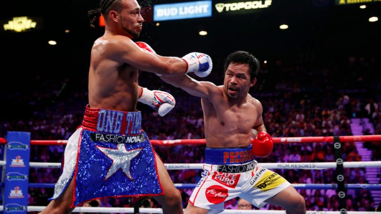 Manny Pacquiao vs Keith Thurman (Foto: Steve Marcus/Getty Images/Guliver)