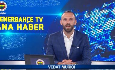 Prezantimi i veçantë i Vedat Muriqit te Fernerbahce, sulmuesi i Kosovës në rolin e moderatorit të lajmeve