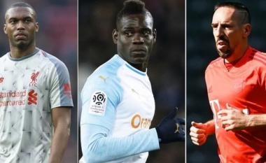 Lista me 30 futbollistë që kanë mbetur pa ekip