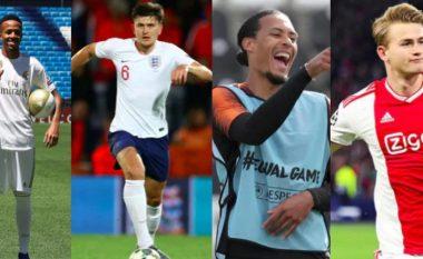 Top 10 mbrojtësit më të shtrenjtë në botë: Maguire mund t'i kapërcejë të gjithë, nga Van Dijk te Hernandez e De Ligt
