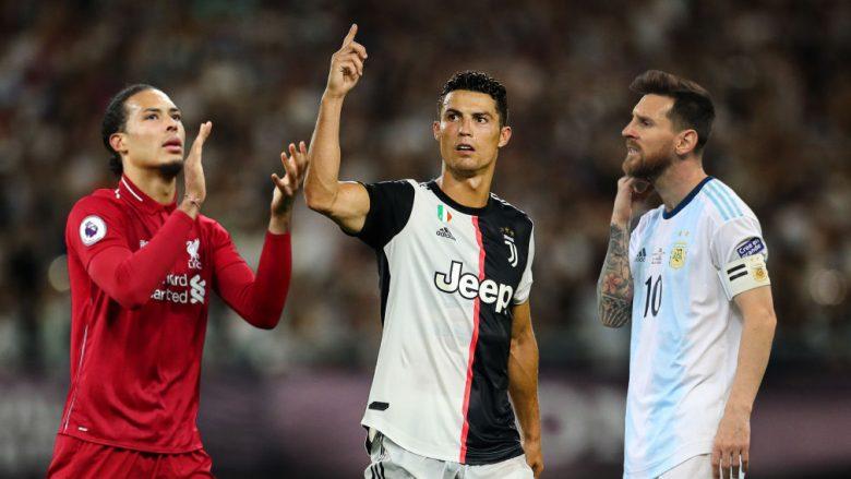 Virgil van Dijk, Cristiano Ronaldo, Lionel Messi (Fotomontazh: Getty Images/Guliver)