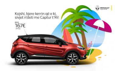 Jepe kerrin e vjetër, shko në deti me kerr të ri – vazhdon oferta Auto Mita për vetura të reja Renault, Nissan dhe Dacia