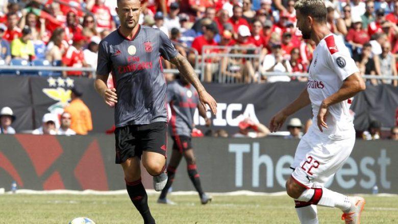 Milan vs Benfica (Foto: SL Benfica/Twitter)