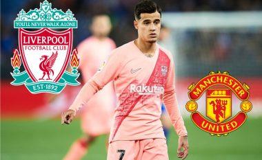 Coutinho refuzon kalimin te Unitedi për rikthimin te Liverpooli
