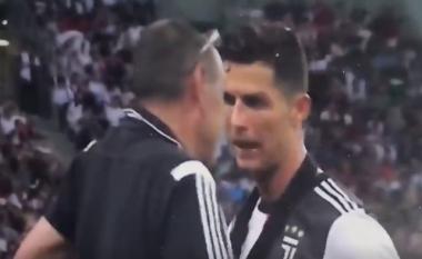 Moment i sikletshëm te Juventusi: Sarri iu arsyetua Ronaldos se përse e zëvendësoi gjatë ndeshjes ndaj Tottenhamit