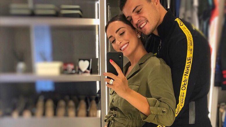 Granit Xhaka dhe Leonita do të bëhen prindër - Telegrafi