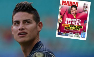 Atletico Madridi afër transferimit sensacional të James Rodriguezit