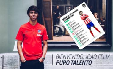 Ndryshon lista e dhjetë transferimeve më të mëdha në histori, Joao Felix i pesti