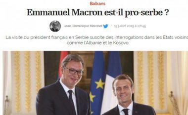 Gazeta franceze 'L'Opinion': A është Macron pro-serb?