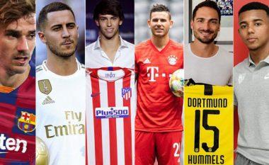 Klubet e La Ligas 'mbretër' të shpenzimeve në Evropë këtë verë - Real Madridi i pari, Bayerni i pesti, Interi i dhjeti