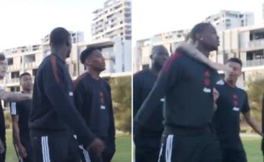 Unitedi arrin në Australi për përgatitjet para sezonale, Lingard dhe Pogba përfshihen në përleshje verbale