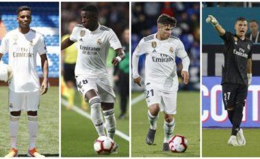 Katër lojtarë të Real Madridit në garë për çmimin 'Djaloshi i Artë'