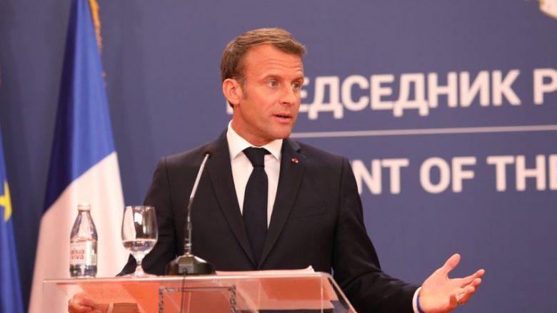 Macron në Beograd: Franca do marrëveshje të qëndrueshme midis Kosovës dhe Serbisë