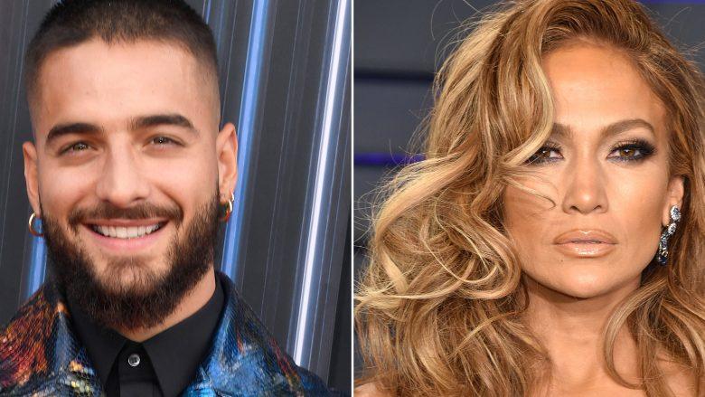 Maluma dhe Jennifer Lopez (Foto: Frazer Harrison/Getty Images)