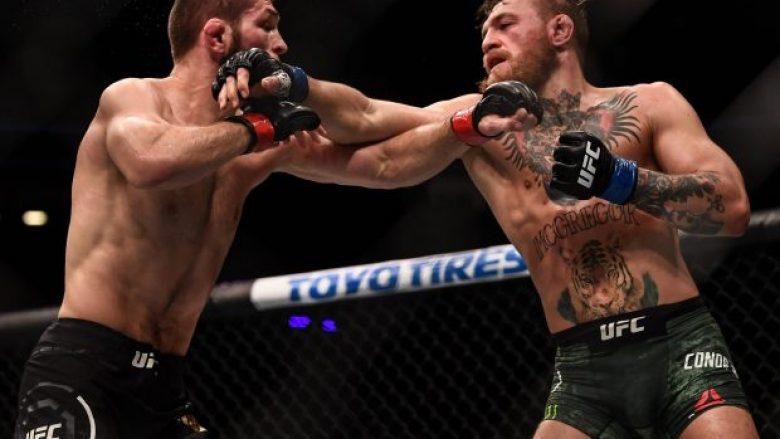 McGregor dhe Khabib gjatë duelit të vitit të kaluar (Foto: Getty Images/Guliver)