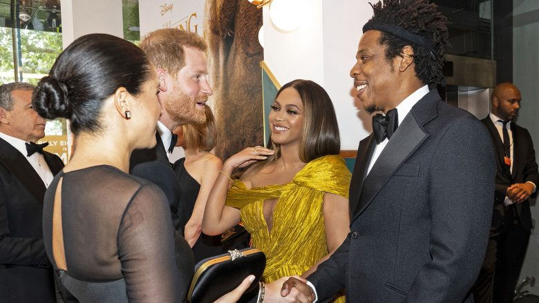 Prince Harry, Meghan Markle, Beyonce dhe Jay Z (Foto: Niklas HALLE'N / POOL / AFP) (Photo credit should read NIKLAS HALLE'N/AFP/Getty Images/Guliver)