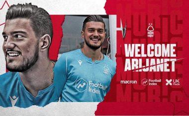 Zyrtare: Nottingham Forest e huazon Arijanet Muriqin nga City