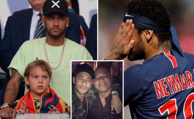 Babai i Neymarit i kundërpërgjigjet PSG-së për mungesën e brazilianit në stërvitje