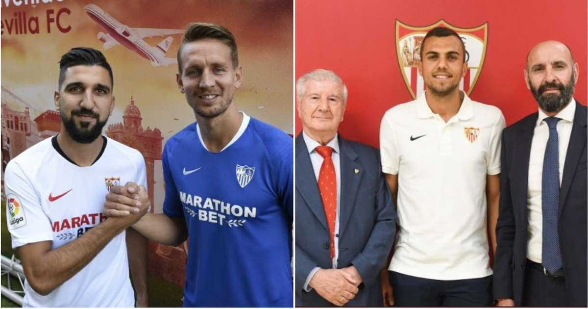 Sevilla ka transferuar nëntë lojtarë kualitativ për 111 milionë euro, por askush nuk po flet për të!