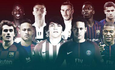 Griezmann bëhet transferimi i pestë më i shtrenjtë i të gjitha kohërave, Ronaldo dhe Pogba mbeten mbrapa tij në 'top 10'