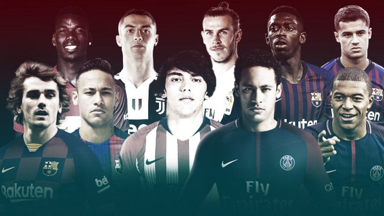Dhjetë transferimet më të shtrenjta (Foto: Marca.com)