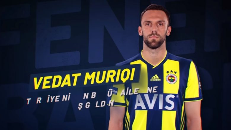 Vedat Muriqi (Foto: Fenerbahce/Facebook)