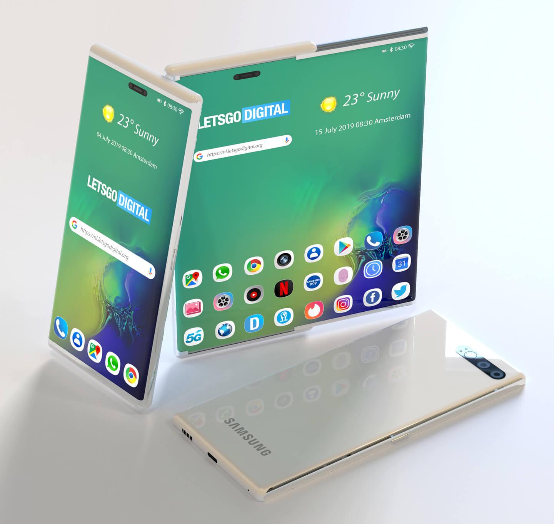 Patenta e Samsung zbulon Galaxy S11 potencial me ekran të zgjerueshëm