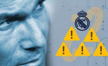 Zidane nën presion: Pesë gabime që i atribuohen trajnerit në paraqitjet e dobëta para-sezonale