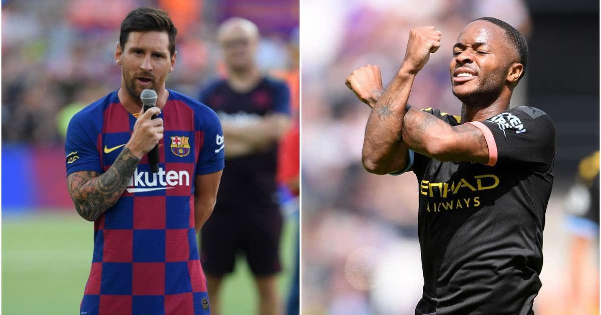 Raheem Sterling vlen 40 milionë euro më shumë sesa Lionel Messi, vazhdon të prijë Kylian Mbappe