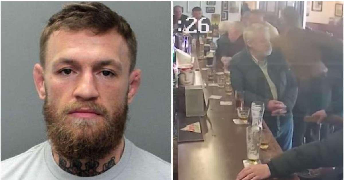 Vazhdon me probleme, Conor McGregor e grushton një burrë të moshuar në një kafene