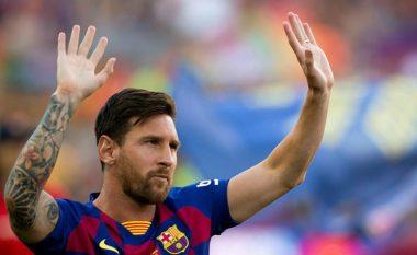 Messi kthehet në stërvitje me skuadrën, mund të luajë ndaj Real Betisit