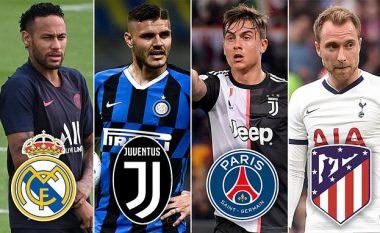 Dhjetë transferimet e mëdha që ende mund të ndodhin – Neymar, Icardi, Dybala e Coutinho mund të ndryshojnë mjedis