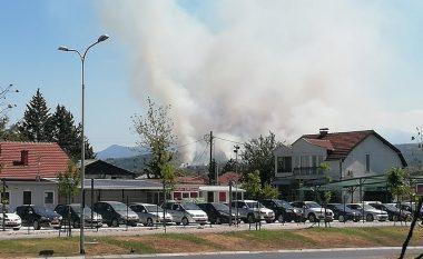 Zjarri në Pintija është ende aktiv