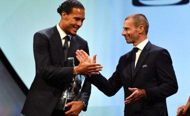 Van Dijk futbollisti i vitit në Evropë, mposhtë Messin dhe Ronaldon