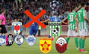 Goodbye Europe: Liga e Kampionëve dhe Liga e Evropës pa asnjë klub shqiptar që në raundin e dytë të kualifikimeve