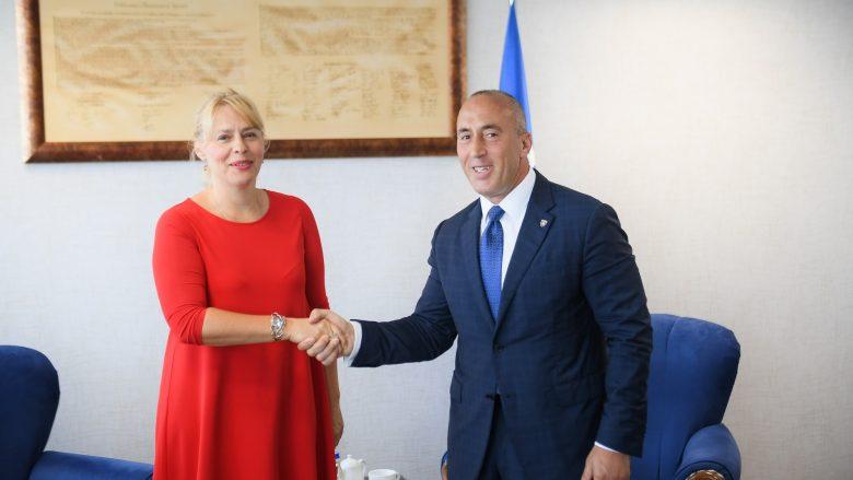 Haradinaj pret në takim lamtumirës ambasadoren e Kroacisë